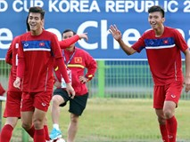 Quang Hải cùng U20 Việt Nam thi đấu hết mình tại World Cup