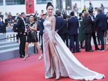 Đây có lẽ là mỹ nhân Việt được lên hình thảm đỏ Cannes lâu nhất năm nay