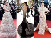 Đếm tiền tấn Lý Nhã Kỳ đã chi cho 5 ngày thả dáng trên thảm đỏ Cannes 2017