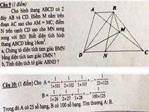 Nghệ An báo cáo Bộ GD&ĐT về đề thi lớp 5 khiến học sinh 'khóc như mưa'