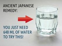 Bí kíp chữa bách bệnh thậm chí cả ung thư bằng cách uống nước khi đói