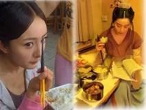 Hình ảnh 'nóng sốt' những bữa ăn vội của sao Hoa ngữ ở hậu trường phim