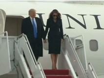 7 khoảnh khắc bất bình thường của Tổng thống Donald Trump và Đệ nhất phu nhân Melania