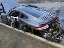 Chạy thử xe cho khách, nhân viên sửa chữa phá hủy luôn siêu xe hơn 5 tỉ đồng