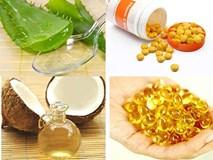 2 công thức đơn giản từ viên nang vitamin E sẽ cho bạn da dẻ trắng mịn như gái 18