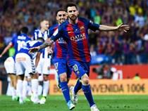Messi nổ súng, Barca lần thứ 3 liên tiếp giành Cúp Nhà vua