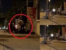 Người đàn ông đánh vợ dã man giữa đường vì ghen tuông?