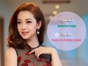 Nghệ danh nửa Tây nửa Ta, ít ai biết tên thật của sao Việt lại vô cùng ấn tượng