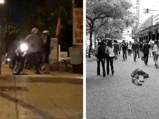 Người đàn ông đánh vợ dã man giữa phố: Sự việc đáng sợ đằng sau