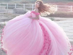 Đây chắc hẳn là chiếc váy cưới mơ ước của tất cả phụ nữ