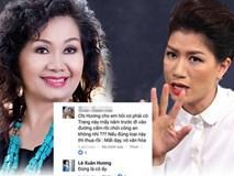 Trang Trần tung bằng chứng tố nghệ sĩ Xuân Hương nói dối