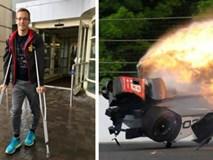Kỳ tích: Tai nạn xe đua 372km/h, trở về từ địa ngục sau 4 ngày