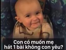 """""""Chết cười"""" với em bé nhiều cảm xúc nhất quả đất"""