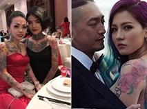 Đám cưới quy tụ toàn nghệ sĩ tattoo có tiếng cả nước