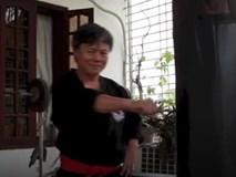 Võ sư Đoàn Bảo Châu giới thiệu một vài động tác trong môn Karate Do