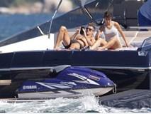 Ronaldo thuê du thuyền đưa bạn gái và con trai đi nghỉ mát