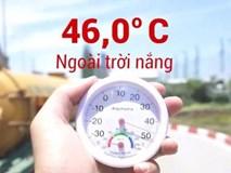 Khi Hà Nội nóng kỷ lục: Yên xe máy 68 độ C, ôtô 72 độ C
