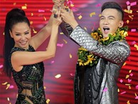 Thu Minh cười mãn nguyện khi Ali Hoàng Dương trở thành Quán quân 'The Voice 2017'