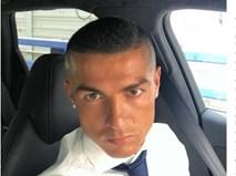 Vô địch Champions League, Ronaldo gây sốc với kiểu đầu trọc lốc