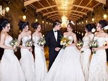 Thêm loạt ảnh cưới lung linh của Lâm Khánh Chi và chồng kém tuổi