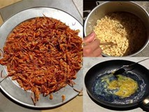 Nắng nóng đỉnh điểm, người Hà Nội không cần bếp vẫn chiên trứng, nấu mì