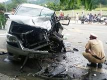Nguyên nhân ban đầu vụ 2 ôtô đối đầu khiến 9 người bị thương