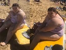 Bị bắt nạt vì béo, cô gái quyết tâm mặc bikini ra biển