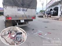 Bé gái 16 tuổi mang thai 7 tháng bị xe tải cán tử vong