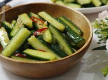 Người Đài Loan có cách làm dưa chuột trộn chua ngọt quá ngon mà lại còn nhanh