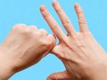 Chỉ với vài động tác này cho ngón tay, bạn sẽ thấy điều kỳ diệu xảy ra