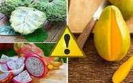 Trái cây rất ngon, nhưng chớ dại ăn những loại trái cây này vào buổi tối