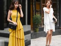 Cuối tuần nắng đẹp, quý cô hai miền xuống phố với loạt váy áo xinh miễn chê
