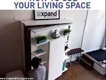 Ấn tượng với nội thất thông minh giúp tiết kiệm tối đa không gian trong căn hộ