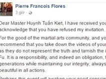 Flores đề nghị chưởng môn Nam Huỳnh Đạo gỡ clip truyền điện
