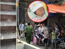 Vụ bé trai 33 ngày tuổi bị sát hại: Cận cảnh dòng chữ