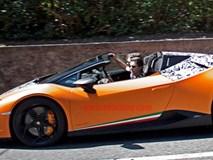 Lamborghini Huracan mui trần bản hiệu năng cao xuất hiện trên phố