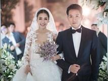 Đám cưới triệu đô sang chảnh hết nấc của mỹ nhân đẹp nhất nhì Thái Lan với nhẫn kim cương 5 carat, 6 bộ váy đắt đỏ