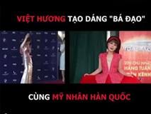 Việt Hương tạo dáng bá đạo theo xu hướng mỹ nhân Hàn Quốc