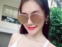 Linh Chi - bạn gái Lâm Vinh Hải khoe da mướt mọng kém gì Ngọc Trinh