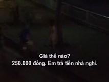 Video: Hà Nội: Có chồng con vẫn đứng bán dâm dọc sông Tô Lịch