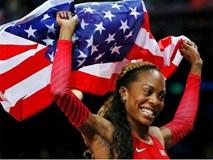 Sao điền kinh Mỹ phá thai 2 tuần trước Olympic vẫn giành Huy chương vàng