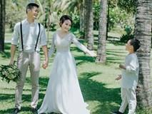 """Không phải Thanh hay Sơn, Vân hoá ra đã làm mẹ và lộ ảnh cưới đẹp như mơ với hai """"trai lạ"""" này đây"""