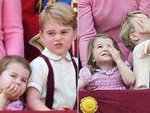 Công chúa nhỏ siêu đáng yêu trong lễ mừng sinh nhật Nữ hoàng Anh