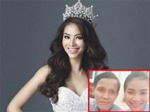 Hoa hậu Phạm Hương ăn chay, hằng đêm cầu nguyện cho cha thoát cơn bạo bệnh