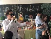 Clip Trấn Thành hát tặng sinh nhật Subeo - quý tử nhà Cường 'Đô La' và Hà Hồ
