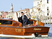 Morata đi thuyền trong lễ cưới đẹp như cổ tích ở Venice