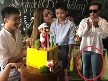Tới sinh nhật con trai Hà Hồ, Trấn Thành bị fan nghi ngờ 'mặc nhầm quần' Hari Won