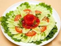 Dưa chuột và cà chua, hai thứ không bao giờ nên ăn chung với nhau và đây là lý do