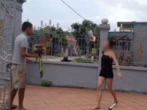 Cầm hoa đi tỏ tình, nam thanh niên bị bạn gái cầm gậy đuổi đánh