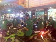 40 tài xế GrabBike kéo nhau đi trả thù cho đồng nghiệp